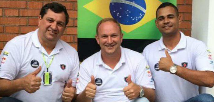 Ruy, Eliardo, e Luis, os brasileiros que irão disputar a final latino-americana