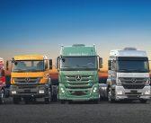 Vendas de caminhões Mercedes-Benz crescem 54% no Sul