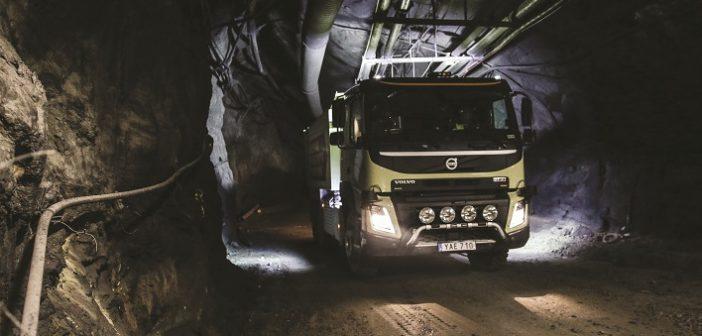 VOLVO: Caminhões autônomos, só em áreas confinadas
