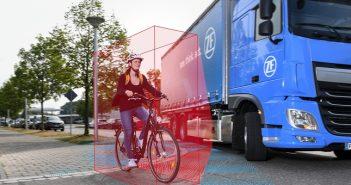 Sistema de assistência lateral da ZF permite caminhões mais seguros nas cidades