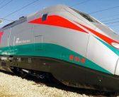 Trem de alta velocidade para conter o caminhão