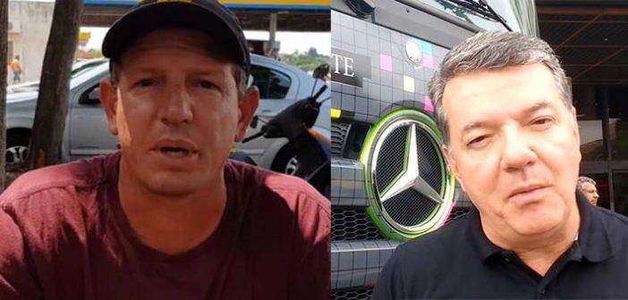 Caminhoneiros entrevistam vice-presidente da Mercedes-Benz