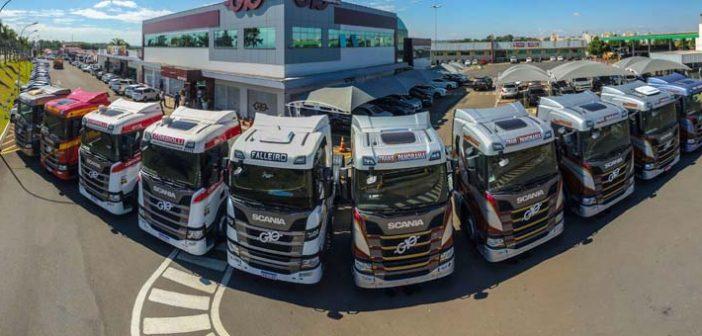 Transpanorama e G10 põem na estrada os Scania da nova geração