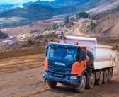 Scania lança caminhão para a mineração e construção pesada