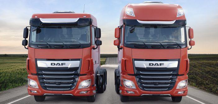 Novo DAF XF ganha cor laranja