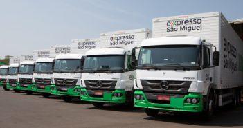 Expresso São Miguel compra 77 caminhões da Mercedes-Benz
