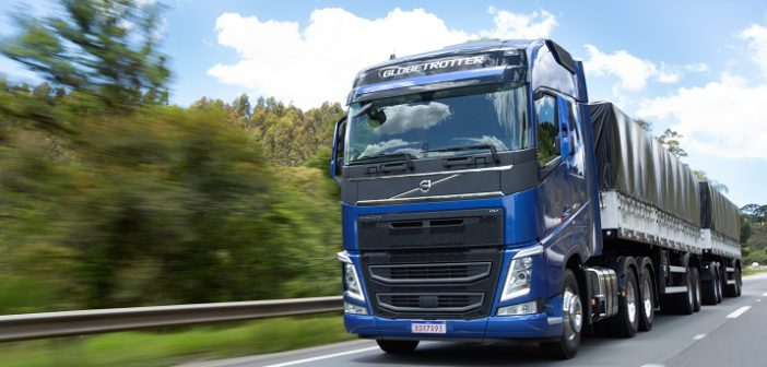 Mercado de caminhões retrai 12,3%