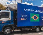 Caminhões VW Delivery distribuem vacinas em SP