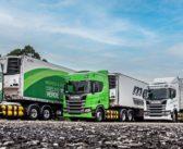 TransMaroni chega a 50 caminhões a gás da Scania