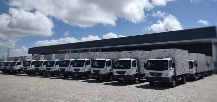 Armazém Paraíba compra 40 caminhões Accelo e 20 furgões Sprinter