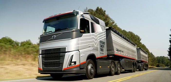 Volvo apresenta caminhão-conceito para transporte de grãos